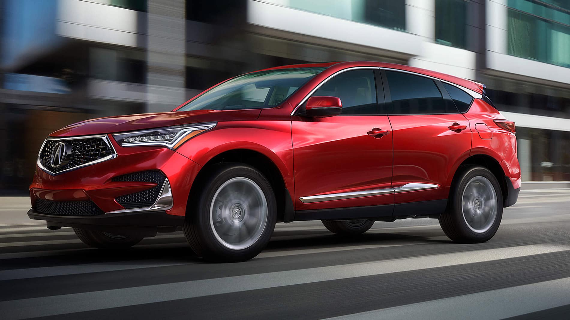 2019 Acura RDX red