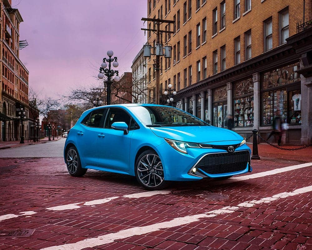 2019-Toyota-Corolla-CA-Blue-Flame-Front-Angled