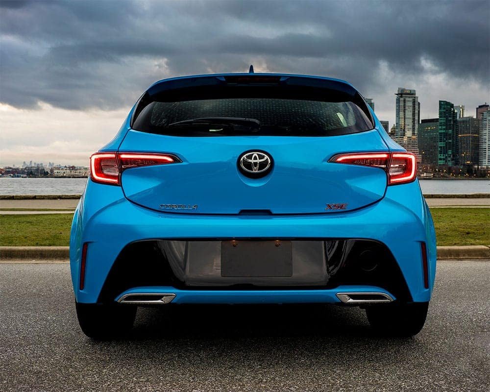 2019-Toyota-Corolla-CA-Blue-Flame-Rear