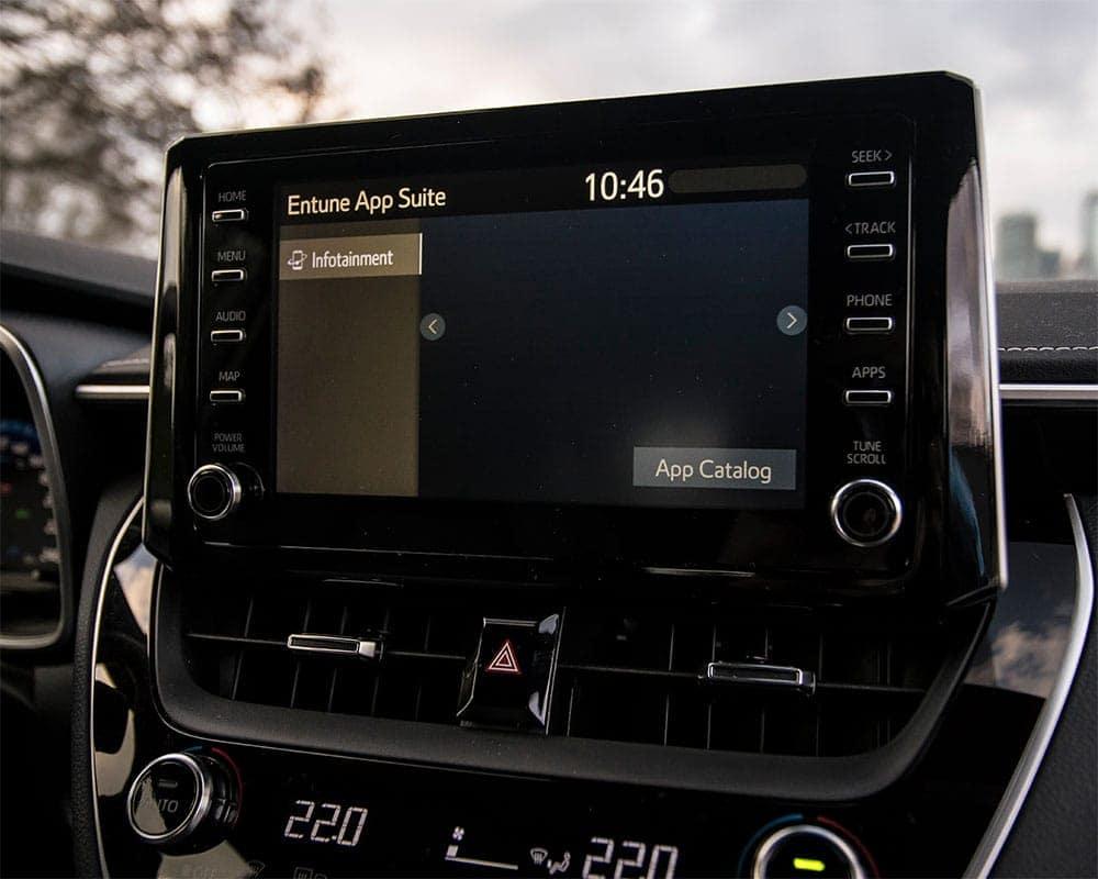 2019-Toyota-Corolla-CA-Hatchback-Entune-App