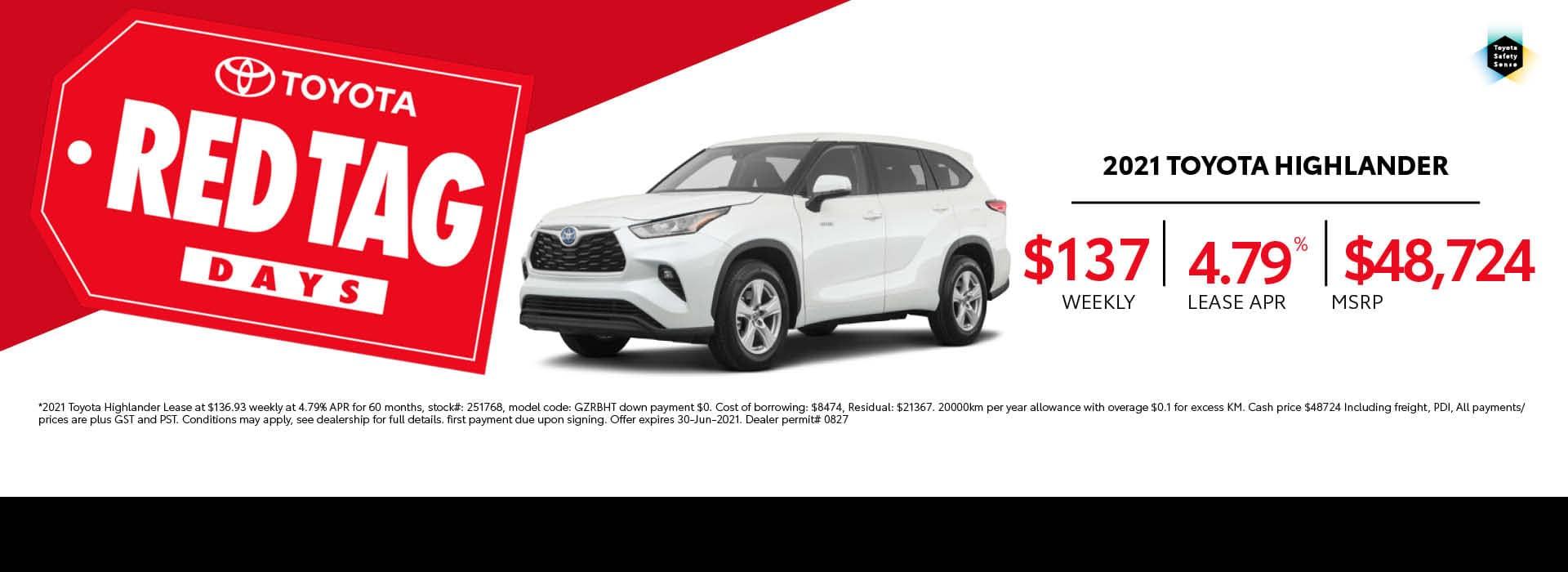 2021_Toyota_Highlander_Home_Page_Desktop_June2021