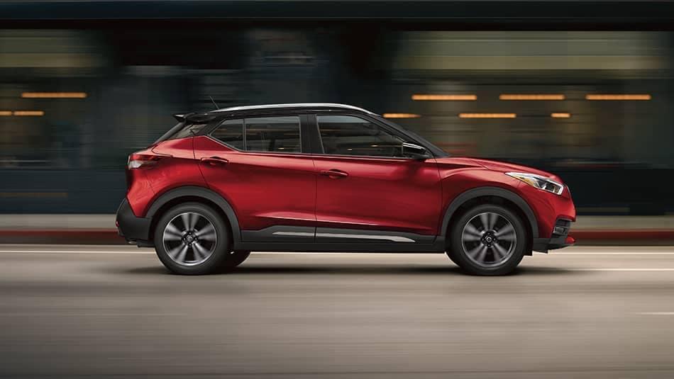 2019 Nissan Kicks In Motion
