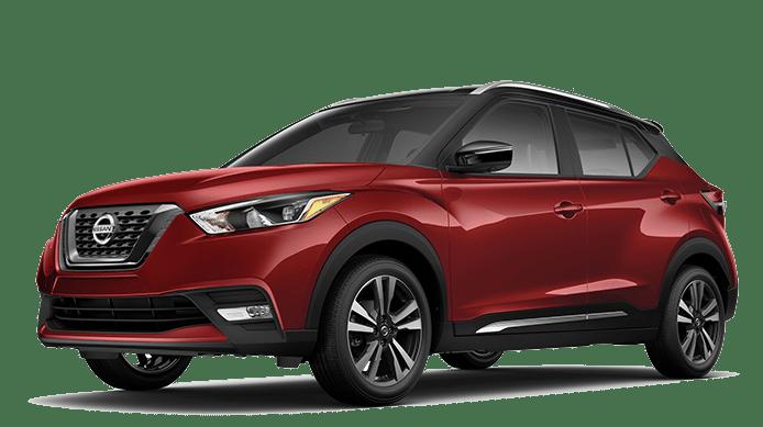 2019 Nissan Kicks Red