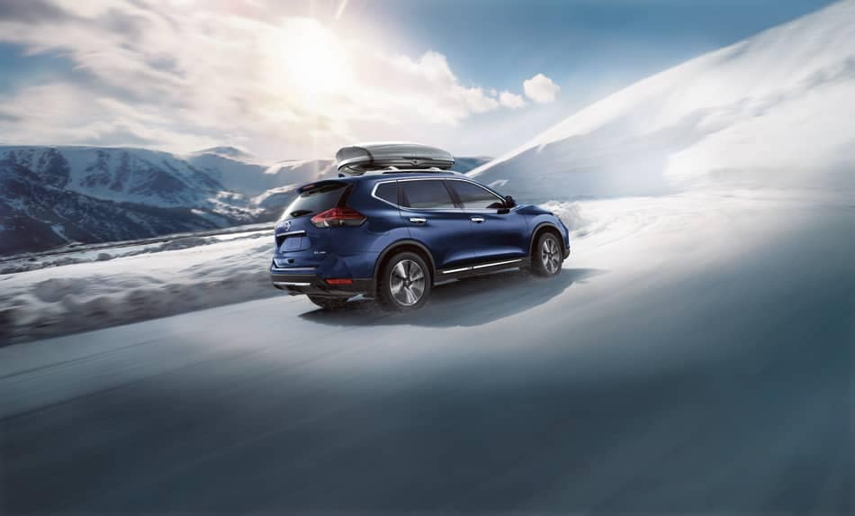 2019 Nissan Rogue In Snow