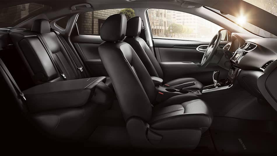 2019 Nissan Sentra Seating