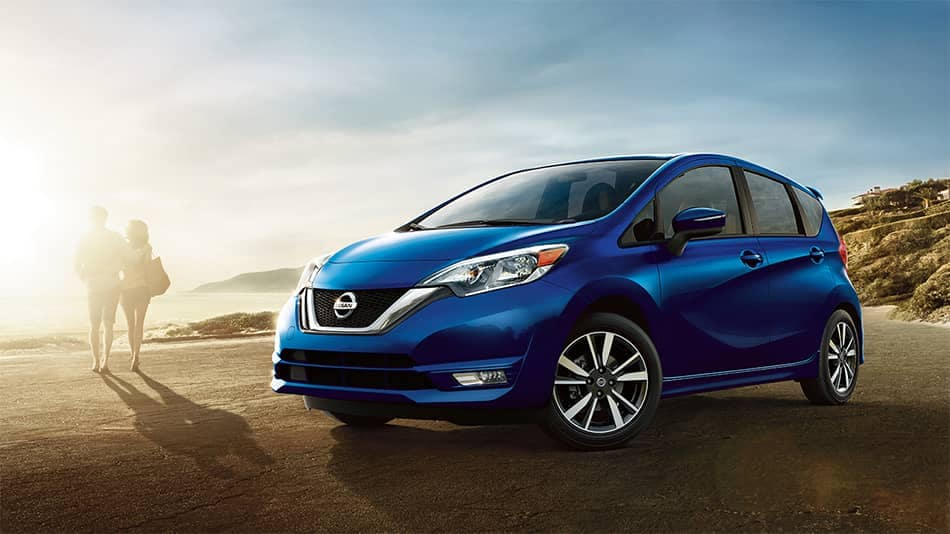2019 Nissan Versa Note Parked