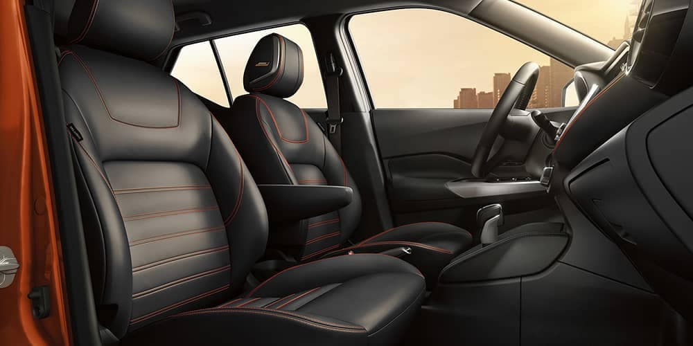 2019 Nissan Kicks Seating