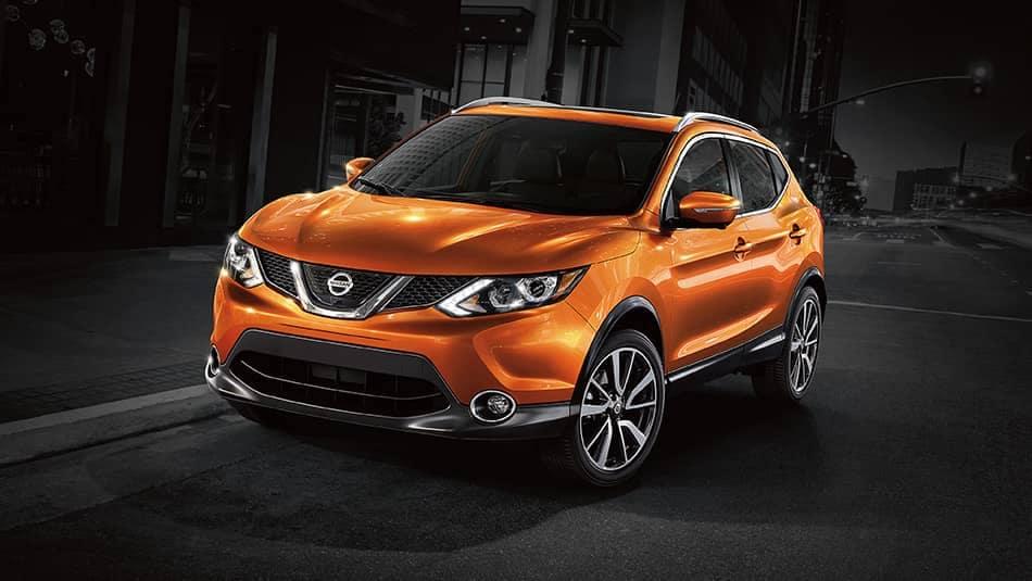 2019 Nissan Qashqai orange