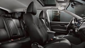 2019 Nissan Qashqai seating