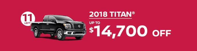 2018 titanget up to $14,700 off