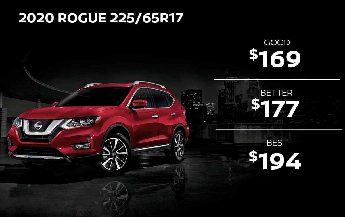 Nissan Rogue Tire Special