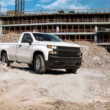 2019 Chevrolet Silverado 1500 On Jobsite
