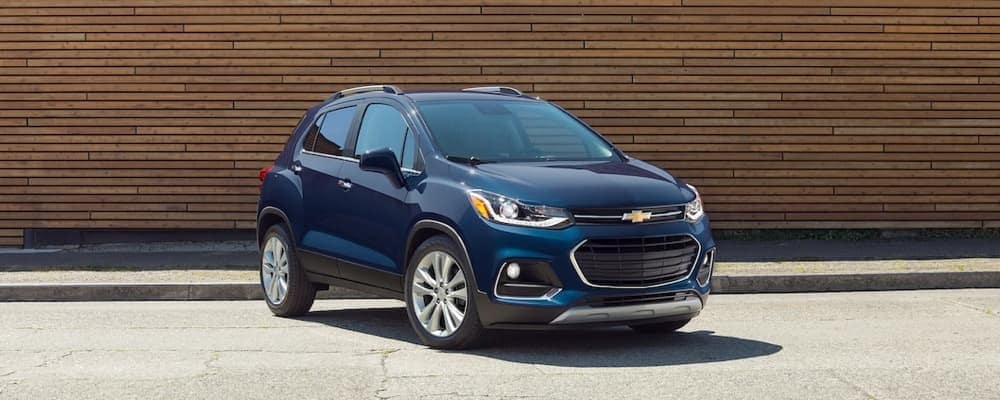 2019 Chevrolet Trax parked