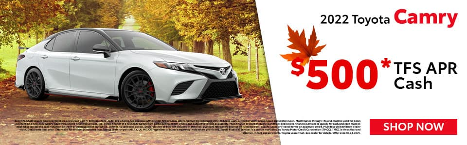 2022 Toyota Camry Offer in Mt. Pleasant, TX
