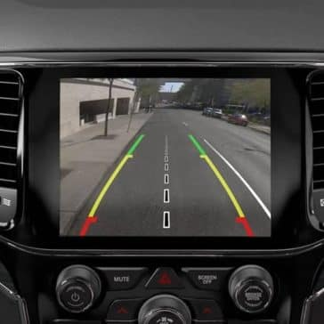 2019 Jeep Grand Cherokee rear view camera