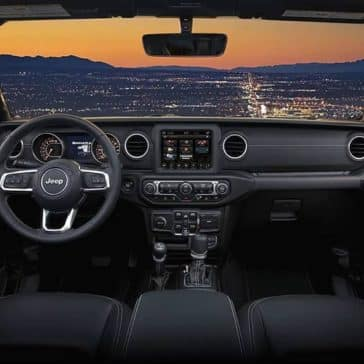 2019 Jeep Wrangler viewing sunset