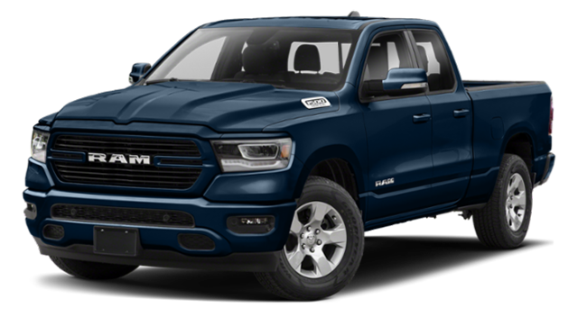2019 All New Ram 1500 Blue
