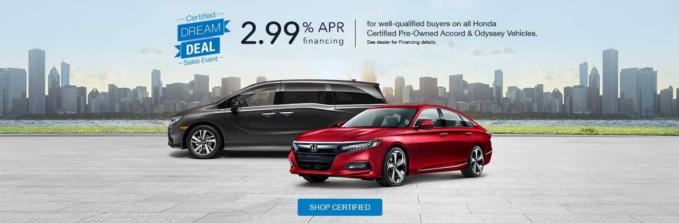 Honda Certified Pre Owned Financing >> Dream Deal Sales Event June 2019 Executive Honda