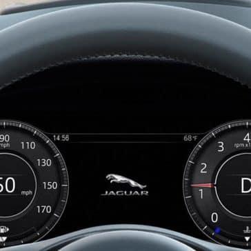 2019 Jaguar E-PACE driver view
