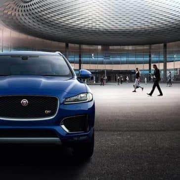 2019 Jaguar F-Pace front view