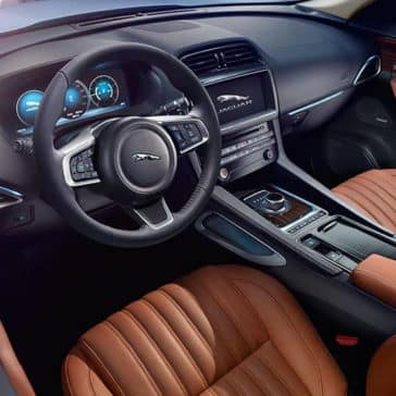2019 Jaguar F-Pace dashboard