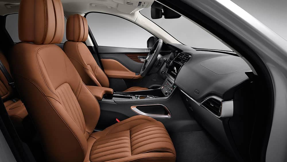 2019 Jaguar F-Pace front seating