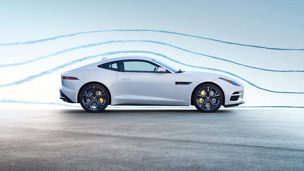 2019 Jaguar F-TYPE R in yulong white with optional features air