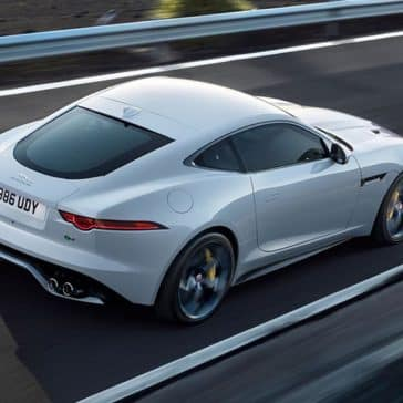 2019 Jaguar F-TYPE R in yulong white with optional features fitted