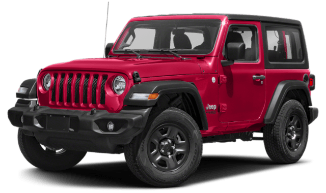 2019 Jeep Wrangler 2-Door Comparison Image