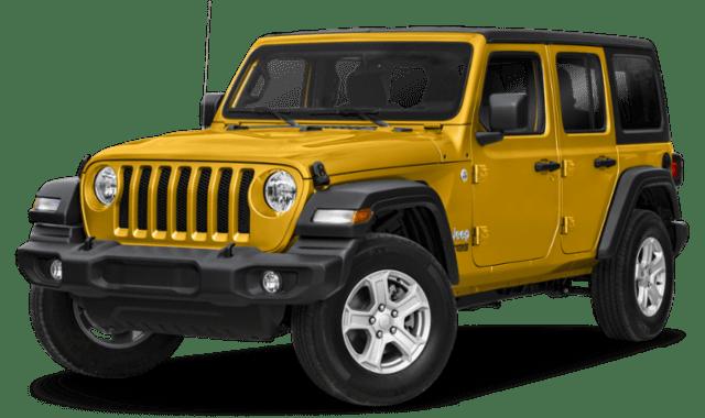 2019 Jeep Wrangler 4-Door Comparison Image