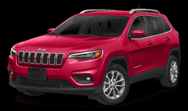 2019 Jeep Cherokee Comparison Image