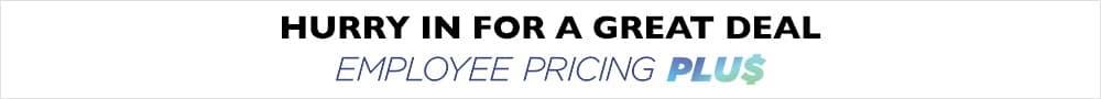 Employee Pricing Plus VLP Banner