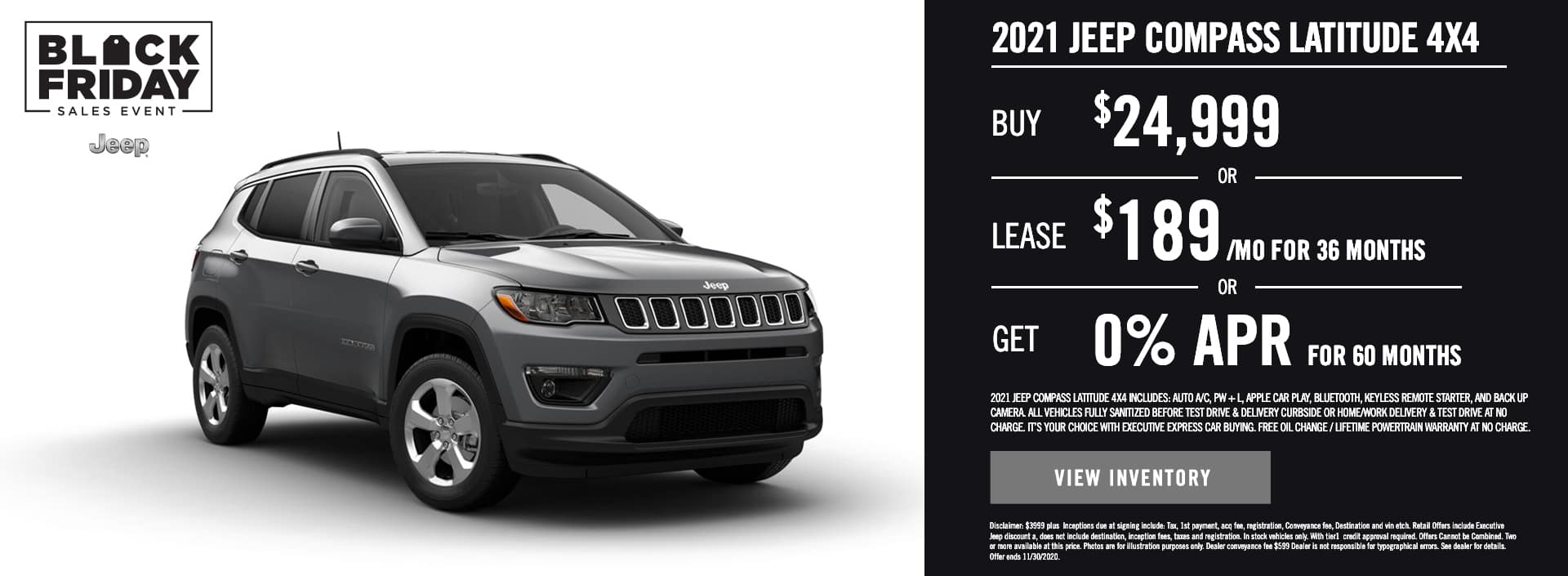 2021 Jeep Compass Latitude 4×4 (1)