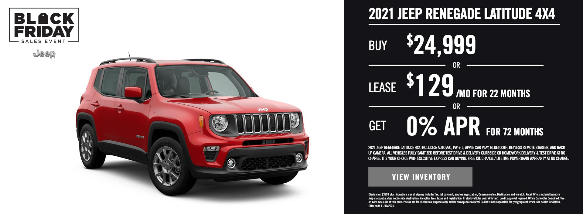 2021 Jeep Renegade latitude 4×4 (1)