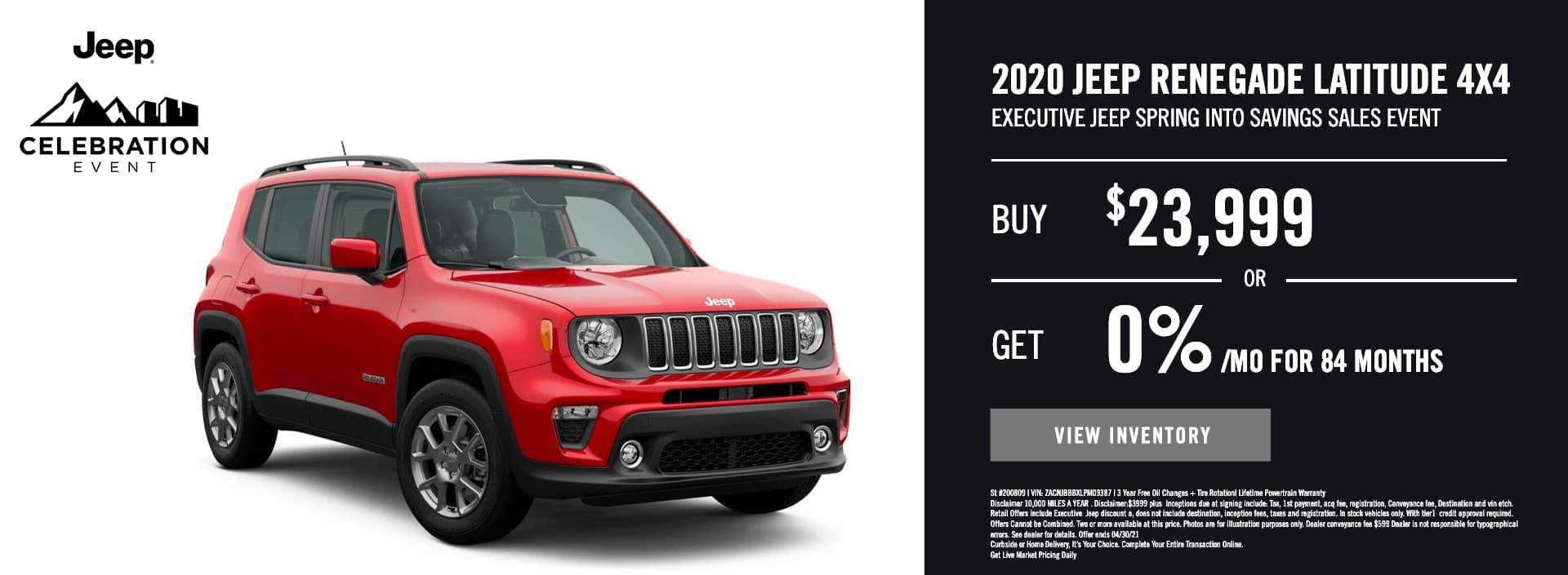 EAG_Jeep_2020 Jeep Renegade Latitude 4×4
