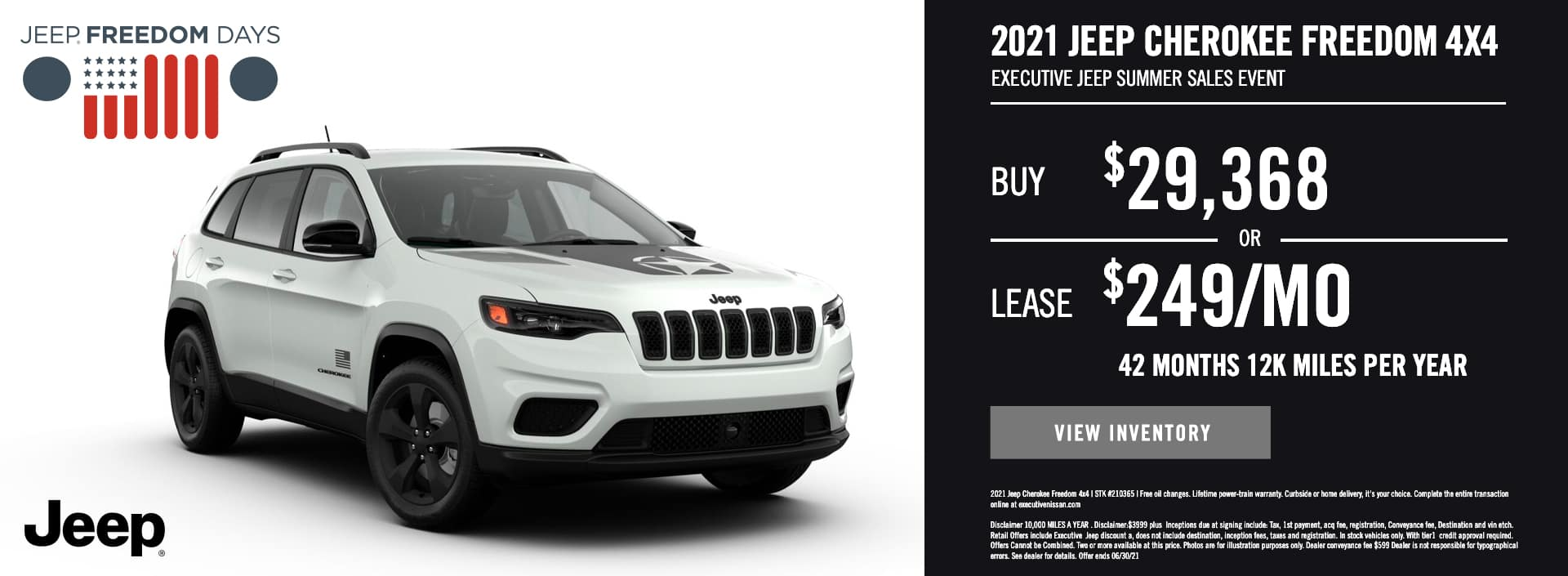 EAG_Jeep_2021 Jeep Cherokee Freedom 4×4