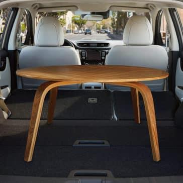 2018.5 Nissan Rogue Sport interior design rear hatch