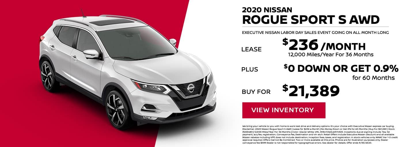 EAG_Nissan_2020 nissan Rogue Sport s awd