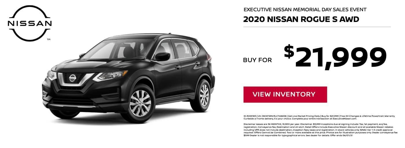 EAG_Nissan_2020 Nissan Rogue S AWD
