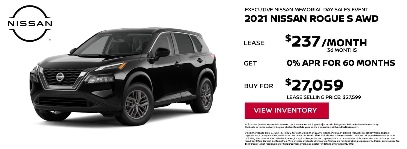 EAG_Nissan_2021 Nissan Rogue S AWD