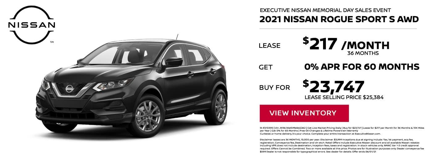 EAG_Nissan_2021 Nissan Rogue Sport S AWD