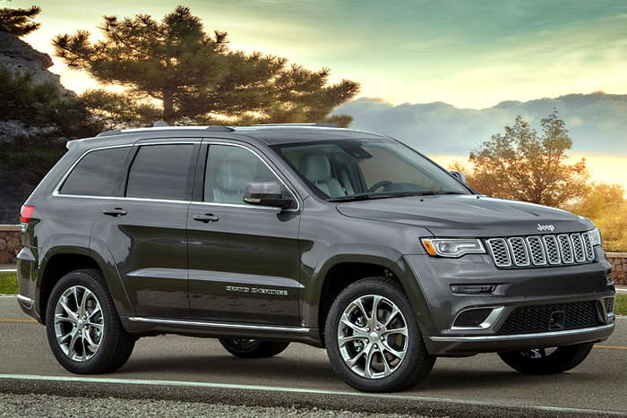 2019 Jeep Grand Cherokee Finance Offer