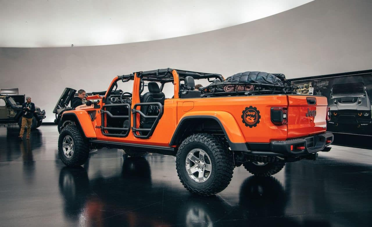 Fields Chrysler Jeep Dodge Ram >> View Photos of the Jeep Gladiator Gravity Concept ...