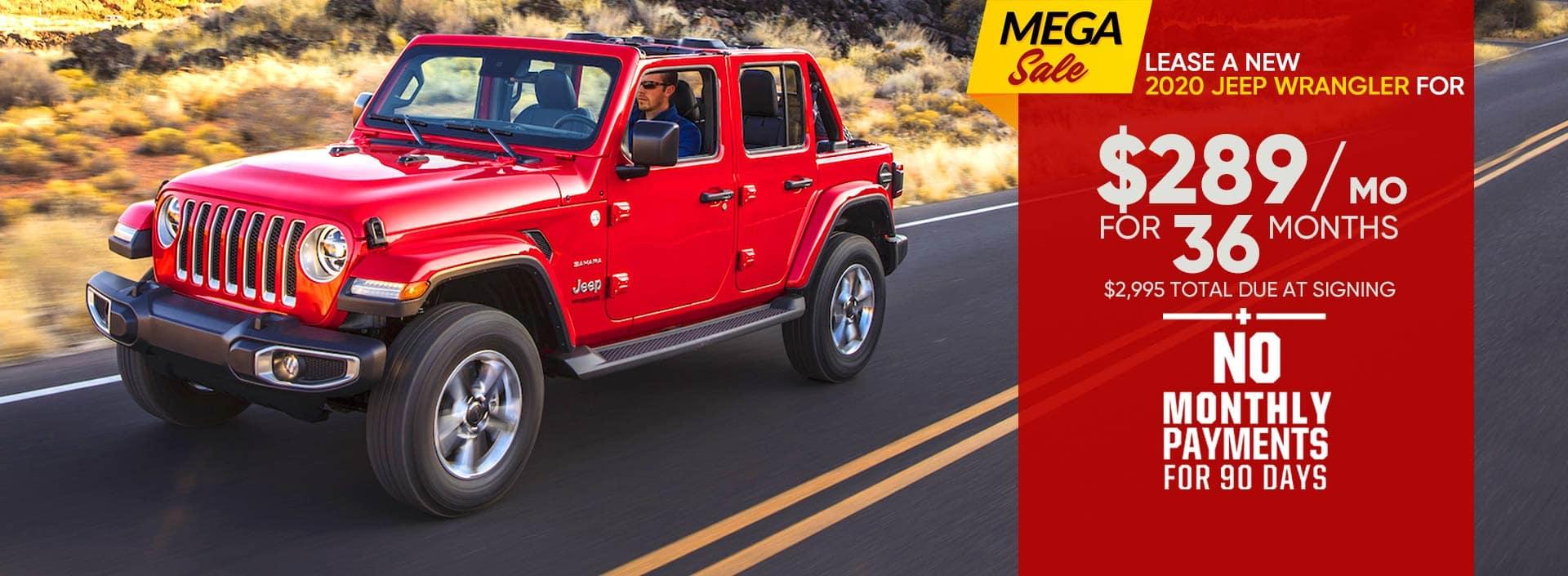 Jeep Wrangler Sale