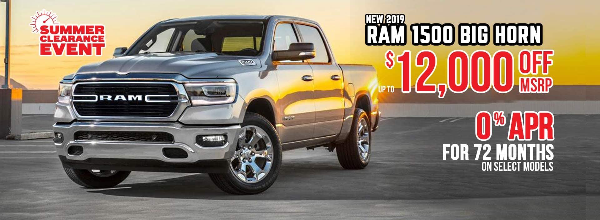 Ram 1500 Sale Truck