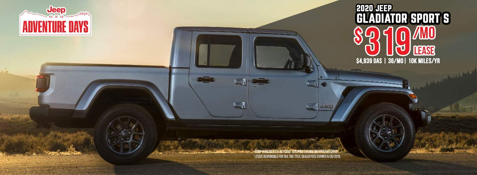 Jeep Gladiator Sale