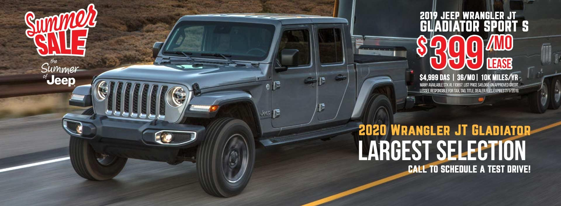 Jeep Wrangler Gladiator Sale