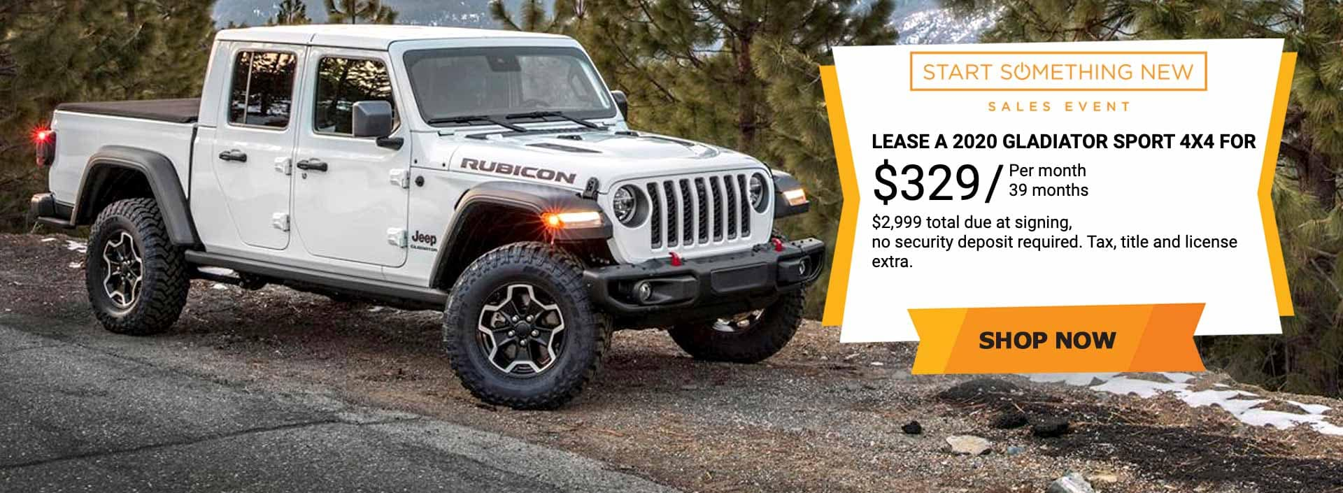 Jeep Glatiator Sale