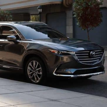 2019 Mazda CX-9 parked on the street
