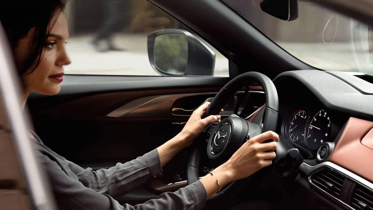 2019 Mazda CX-9 steering wheel